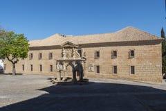 San Felipe Neri Old rådseminarium, Baeza, Jaen, Spanien Arkivbild