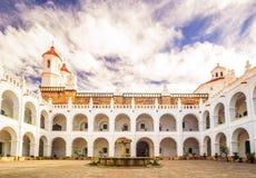 San Felipe Neri in Sucre Bolivien lizenzfreie stockfotografie