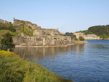 San- Felipeschloss in Ferrol, Spanien. stockfotos