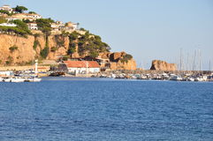 San Feliu de Guixols, Spain Royalty Free Stock Photo
