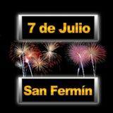 San Fermín. Stock Photography