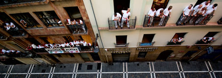 San Fermin, Pamplona Stock Image