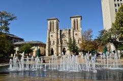 San Fernando Cathedral Royalty-vrije Stock Foto