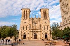 San Fernando Cathedral San Antonio stock images