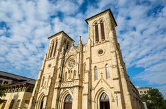 San Fernando Cathedral San Antonio. Texas Stock Images