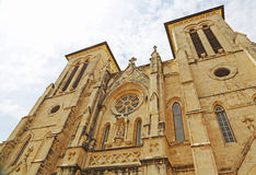 San Fernando Cathedral. View at San Fernando Cathedral, San Antonio, Texas Stock Photography