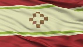 San Fernando Del Valle De Catamarca City Flag, Argentina, vista del primo piano Illustrazione di Stock