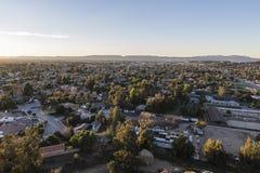 San Fernando doliny wschód słońca Zdjęcia Stock