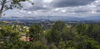 San Fernando Valley, Kalifornien, an einem vollen Tag stockfotografie