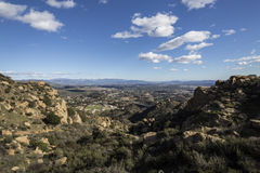 San Fernando Valley in Los Angeles, CA Stock Photos