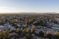 San Fernando Valley Sunrise Stock Photos