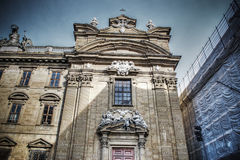 San Filippo Neri church facade in Florence Stock Image