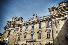 San Filippo Neri church in hdr Royalty Free Stock Image