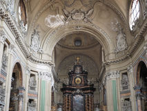 San Filippo Neri kyrka i Turin royaltyfria bilder