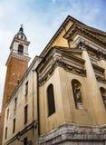 San Filippo Neri kyrka i Vicenza, Italia arkivbild