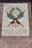 San Florent, San Fiorenzo, orizzonte, vicoli, Haute-Corse, Corsica, Francia, isola, Europa Fotografie Stock