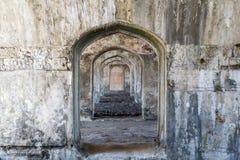 San forte Juan de Ulua nella città di Veracruz immagini stock