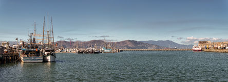 San Fran Bay Panorama 1 Royaltyfri Bild
