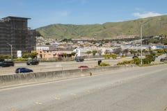 San Fran wzgórza fotografia royalty free