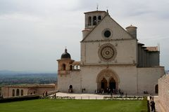 San Francesco Assisi. Captured in Assisi - Umbria - Cathedral Royalty Free Stock Photography
