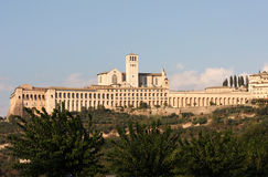 San Francesco in Assisi, Umbria, Italy Stock Image