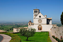 San Francesco Basilica - Assisi Royalty Free Stock Photography