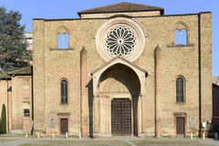 San Francesco church facade, Lodi, Italy Stock Photos