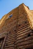 San Francesco Church in Mondavio. The ancient San Francesco`s Church in Mondavio Italy Marche Royalty Free Stock Image