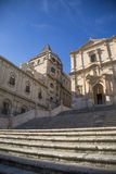 San Francesco Church in Noto, Sicily Stock Image