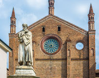 San Francesco church of Piacenza. Emilia-Romagna. Italy. Stock Photography