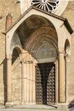 San Francesco church prothyrum, Lodi, Italy Stock Photo