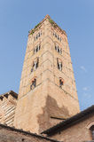 San Francesco, a church in Siena, Tuscany, Italy. Royalty Free Stock Photos