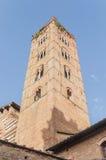 San Francesco, a church in Siena, Tuscany, Italy. Royalty Free Stock Photos