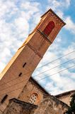San Francesco Church tower, Bologna Italy Royalty Free Stock Image