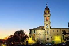 San Francesco da Paola kyrka i Genua fotografering för bildbyråer