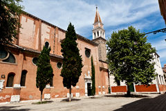 San Francesco della Vigna, Venice, Italy stock photography