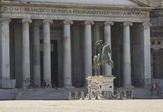 San Francesco di Paola church, Naples Royalty Free Stock Photos