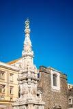 San Francesco di Paola, Plebiscito fyrkant i Naples Arkivbilder