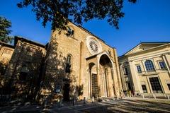 San Francesco kyrka, Lodi, Italien Arkivfoto