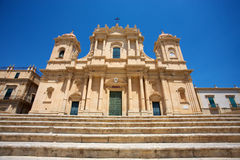 San Francesco in Noto Stock Images
