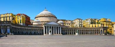 San Francesco Paola, Italy, Nápoles fotos de stock royalty free