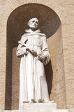 San Francis' statue Royalty Free Stock Photography