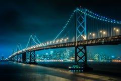 San Francisco–Oakland Bay Bridge in San Francisco royalty free stock images