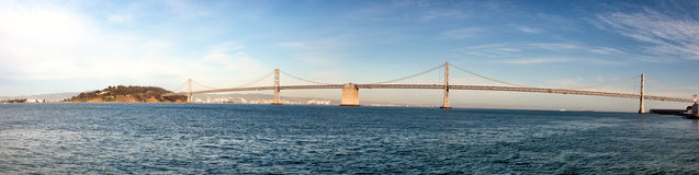 The San Francisco–Oakland Bay Bridge Stock Photo