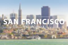 San Francisco Stock Afbeelding