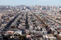 San Francisco from above Stock Photography