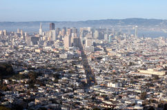 San Francisco from above Royalty Free Stock Images