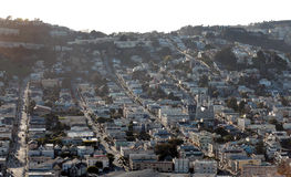 San Francisco from above Royalty Free Stock Photos