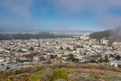 San Francisco from above. View of San Francisco from above Royalty Free Stock Photo