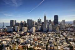 San Francisco Aerial Imagenes de archivo
